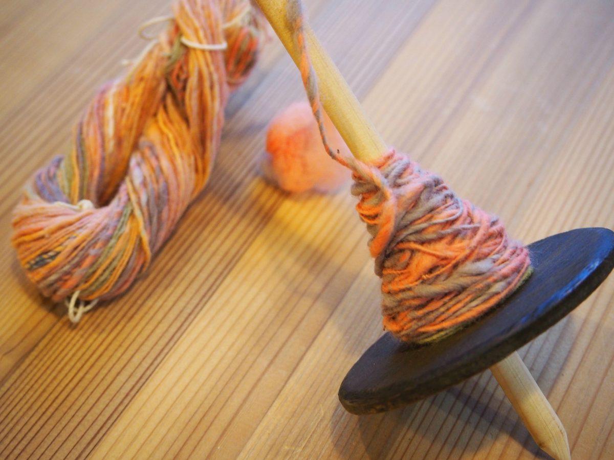 4月 あまがえるde糸紡ぎ ワークショップのお知らせ