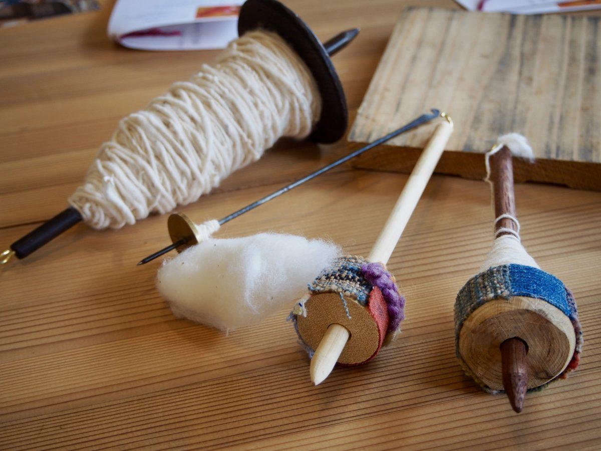 毎月第3木曜日 あまがえるde糸紡ぎ