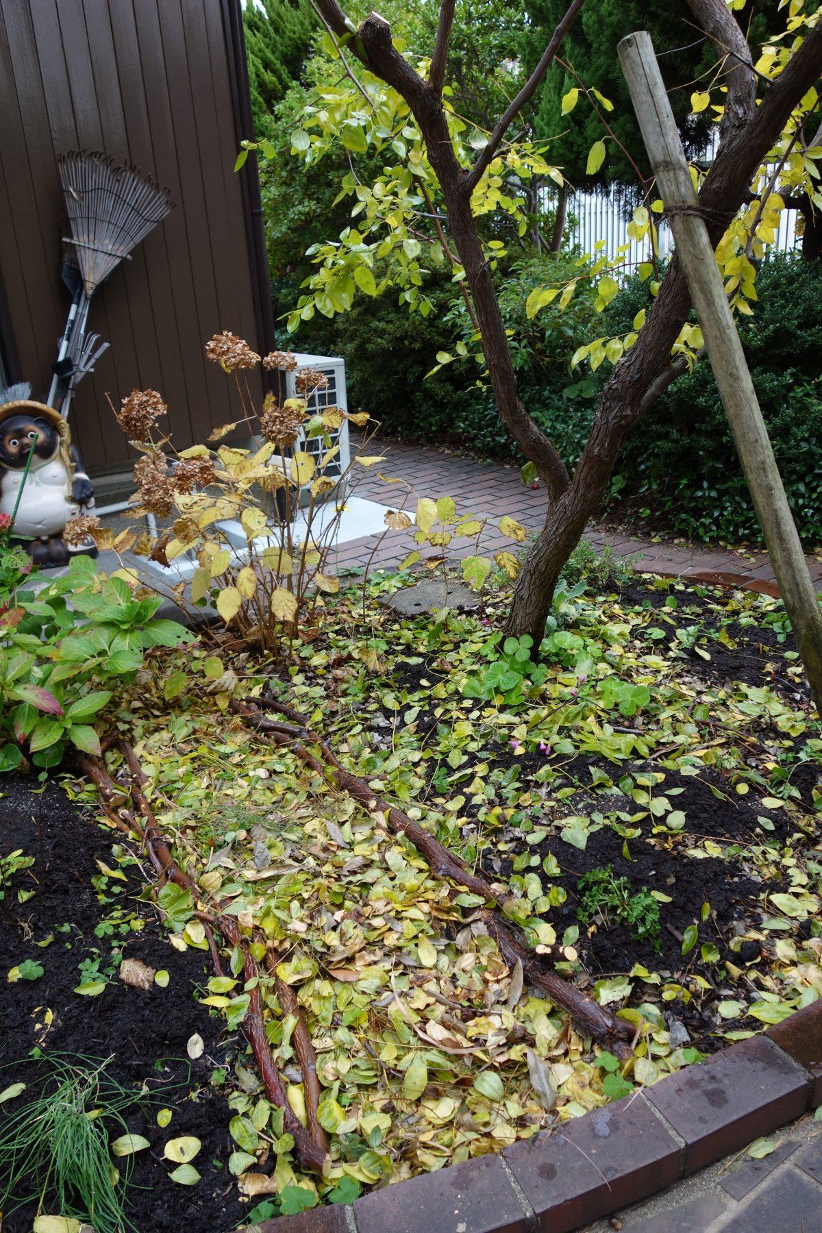 誰にでもすぐにできる花壇の小道