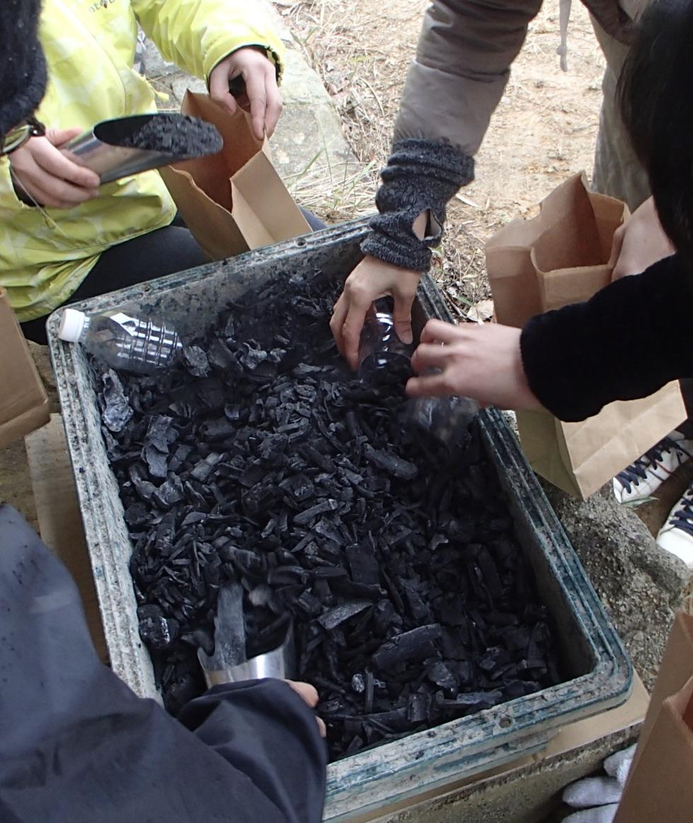 つながる竹炭プロジェクト